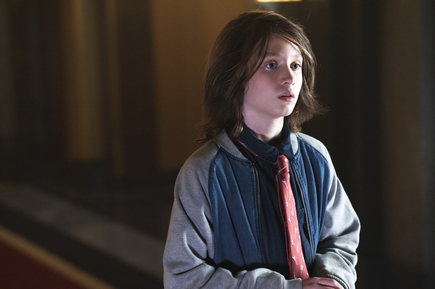 "AMERICAN HORROR STORY -- ""Checking In"" Episode 501 (Airs Wednesday, October 7, 10:00 pm/ep) Pictured: Lyric Lennon as Lachlan Drake. CR: Suzanne Tenner/FX"